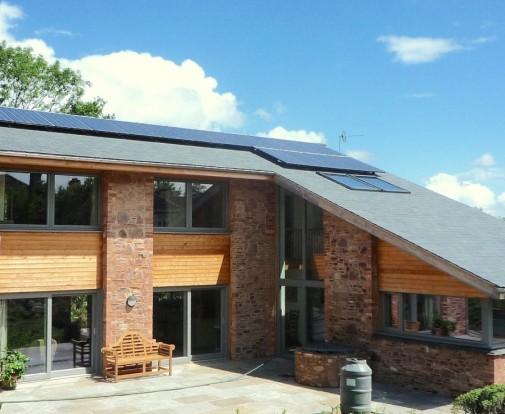 New Build Somerset solar