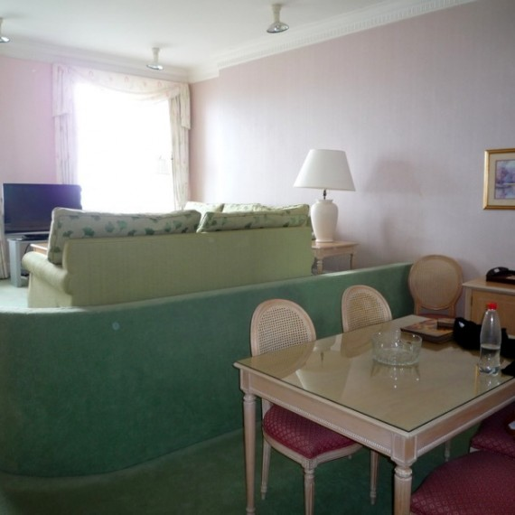 Torquay Apartment Before Refurbishment Dining