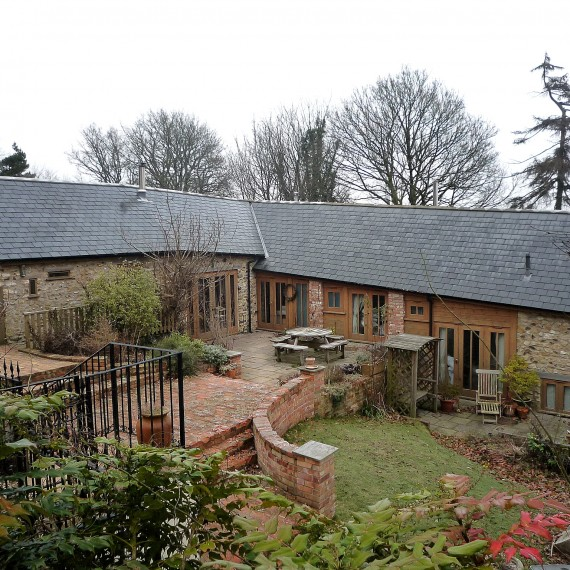 Barn Conversion to Spiritual Retreat