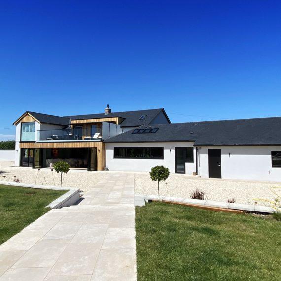 Contemporary upgrade of house